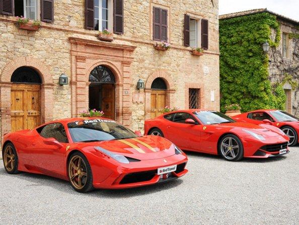 1-Day Rome & Mille Miglia Ferrari Tour